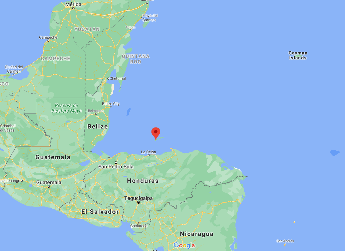 Roatan compared to mainland Honduras and Central America