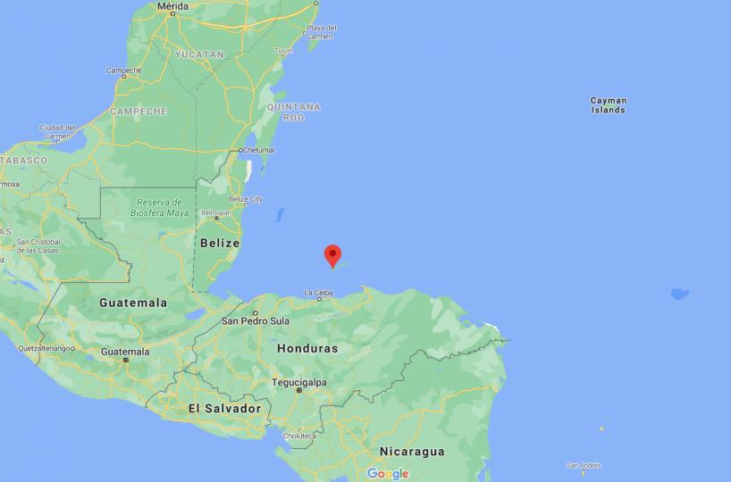 Roatan compared to mainland Honduras and Central America